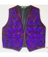 New embroidered Artesania Popwuh purple, burgun... - $22.50