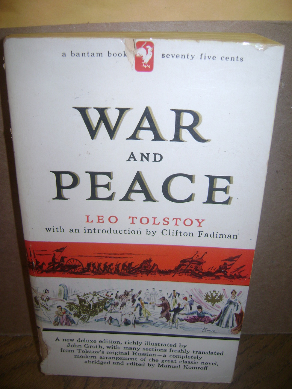 Primary image for War and Peace  Leo Tolstoy