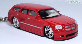 KEY CHAIN 2004/2005/2006/2007/2008/2009 RED DODGE MAGNUM NEW PORTE CLE L... - $44.95