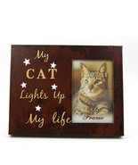 "Cat Photo Frame 4"" x 6"" LED Light Up Lighted Canvas Wall or Tabletop Pic... - $20.89"