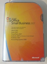 Microsoft Office 2007 Small Business Edition w/ Accounting Express Full Version - $33.66