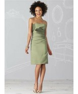 Bridesmaid / Cocktail Dress 6618.....Kiwi....Size 6 - $39.60