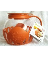 Ecolution Micro-Pop Popcorn Popper Microwave 3 Quart Orange New With Tag - $24.95