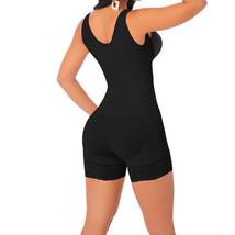 Full Body Shaper High Compression Strappy Waist Trainer Corset Shapewear Black - $16.19+