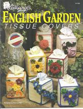 English Garden Tissue Covers Crochet Pattern~OOP~RARE - $23.99