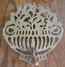 TRIVET EP Zinc Silverplate Italy Signed Piero Maestri  Hanging Decor - $13.81