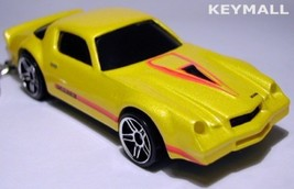 Key Chain 77~78~79~80 Yellow & Red Chevy Camaro Z28 New Porte Cle Llavero БРЕ - $38.98