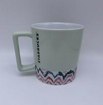 Starbucks 12 fl oz Mint Green Ceramic Coffee Mug Cup - $20.36