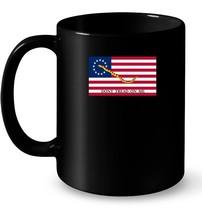 Betsy Ross First Naval Jack Flag USA Ceramic Mug - $13.99+