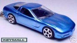 KEY CHAIN 97~98~99~04 BLUE CHEVY CORVETTE C5 PO... - $19.98