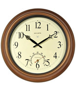 """AcuRite - 50314A1 - 18"""" Copper Indoor Or Outdoor Atomic Clock With Therm... - $79.15"""
