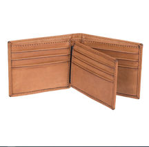 Men's Levi's RFID-Blocking Extra-Capacity Credit Card ID Tan Slimfold Wallet image 4