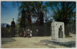 HALIFAX NOVA SCOTIA Main Entrance to Public Gardens Sir Walter Scott Pos... - $3.95