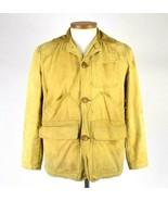 Vtg 50s JC Higgins Sears Duck Tan Hunting Field Jacket Game Bird Retro S... - $113.84