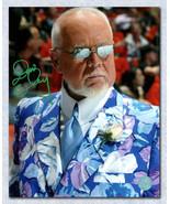 Don Cherry Autographed Blue Flower Suit & Sunglasses 11x14 Photo