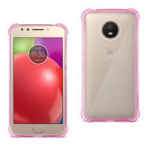 Reiko Motorola Moto E4 Active Clear Bumper Case With Air Cushion Protect... - $8.01