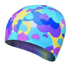 Gentle Meow Men And Women Comfortable Fashion Swimming Caps, Multicolor ... - €13,68 EUR