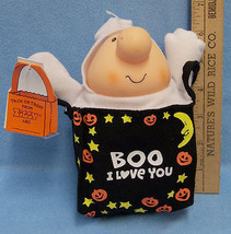 Vintage Boo I Love You  Ziggy Ghost Bag American Greetings 1991 Halloween - €11,30 EUR