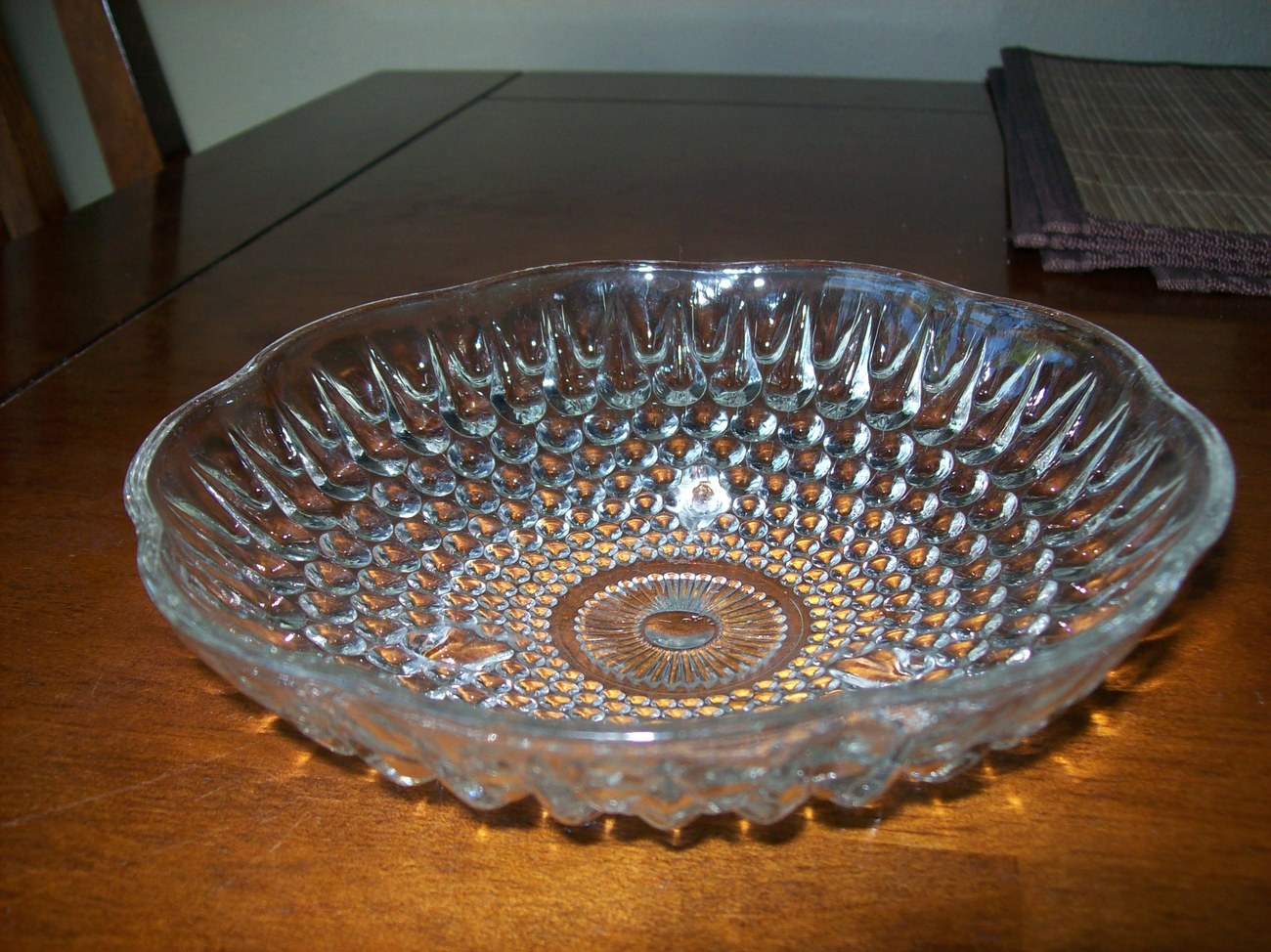 Fancy Glass Candy Dish