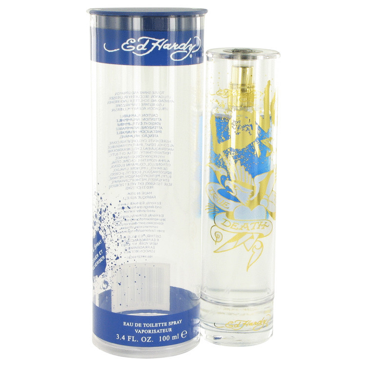 Ed Hardy Love Luck For Men 3 4 Oz 100 Ml Edt Spray: Christian Audigier Ed Hardy Love Is Cologne For Men