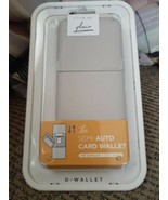 D-Wallet F-Type Series 501 Semi-Auto Card Wallet RFID Blocking Security ... - $31.67