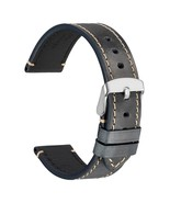 WOCCI Vintage Watch Band Germany Crazy Horse Leather With Stainless Buckle - $27.29
