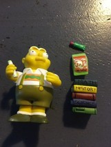 Uter The Simpsons Action Figure Loose Playmates - $7.75