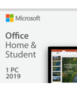 Microsoft Office Home and Student 2019 for Win -1 Pc  - $22.99