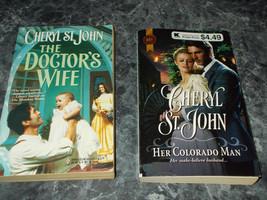 Harlequin Western Historical Cheryl St John lot of 2 paperbacks - $2.99
