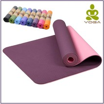 Non-slip Yoga Mat For Fitness Gym Exercise Sport Mats 8 COLOR 6MM  - $22.96