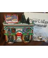 Dept 56 Snow Village Building 1997 HERSHEY'S CHOCOLATE SHOP 54913 Retire... - $39.95