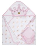 Gerber Baby Girl 4-Piece Pink Princess Organic Cotton Terry Bath Set - $19.99