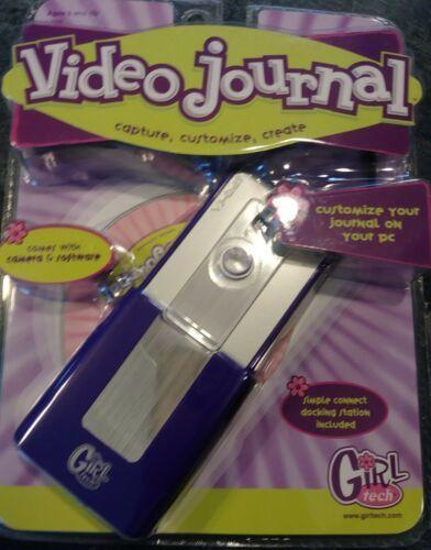 Mattel Girl Tech Video Journal Camera/Software Desktop Digital Diary Journal NEW