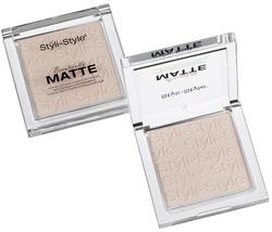 (2 Pack) Styli-Style Beautifully Matte face Powder - Porcelain  - $29.99