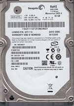ST980817AS, 5RE, WU, PN 9DG13D-070, FW 3.CMF, Seagate 80GB SATA 2.5 Hard Drive