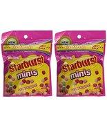 Starburst Mini Fruit Chews FaveReds Unwrapped, 8oz (2 Packs) - $14.00