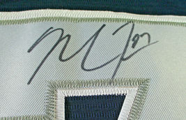 MIKE TROUT / AUTOGRAPHED AMERICAN LEAGUE BLUE ALL STAR BASEBALL JERSEY / COA image 5