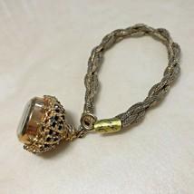 Vintage Capri By MEPA Lady Gold Tone Bracelet Hand-Winding Mechanical Wa... - $28.49