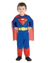 Rubies Halloween Costume Co Superman Jumpsuit Costume Toddler Size with ... - $16.82