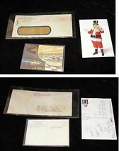 Planters Nuts Mr. Peanut Postcard & Envelope Lot 1940s - 2001 Atlantic C... - $22.99