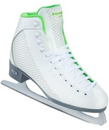 Riedell 2015 Figure Skates Model 113 Sparkle White/Lime Size 4 Med - $69.99