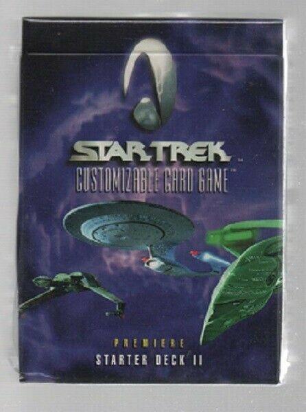 Star Trek Customizable Card Game - Premiere Starter Deck II - Decipher.