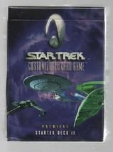 Star Trek Customizable Card Game - Premiere Starter Deck II - Decipher. image 1