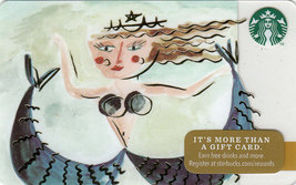 Starbucks 2014 Mermaid Collectible Gift Card New No Value - $3.99