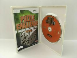 Puzzle Challenge Crosswords and More (Nintendo Wii, 2009) CIB, USA SELLER image 4