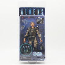 NECA ALIENS COLONEL CAMERON PVC Action Figure Collectible Model Toy 17cm - $41.30