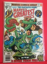 Marvel's Greatest Comics Starring: The Fantastic Four  May 1977 - $4.99