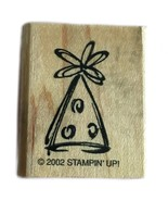 Rubber Wood Stamp Stamping Crafting Stampin Up Party Hat - $9.89