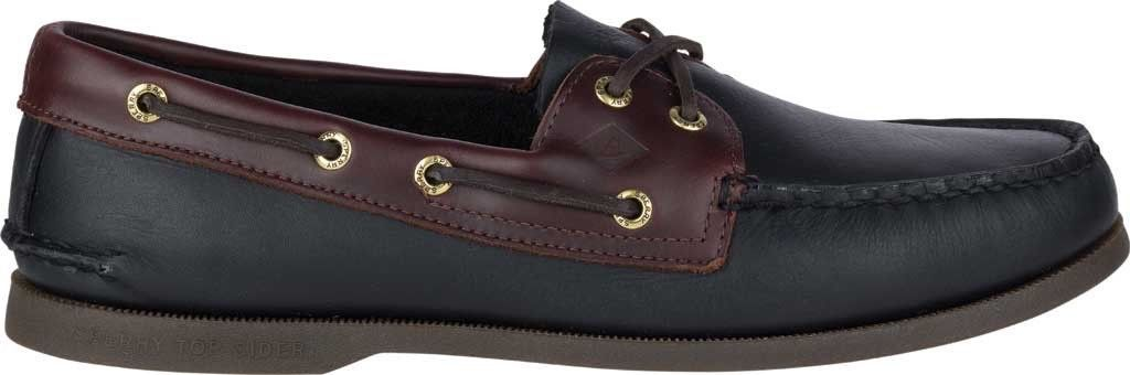 19faf153689bd Sperry Top-Sider Authentic Original Boat Shoe (Men s) NEW - Black Amaretto
