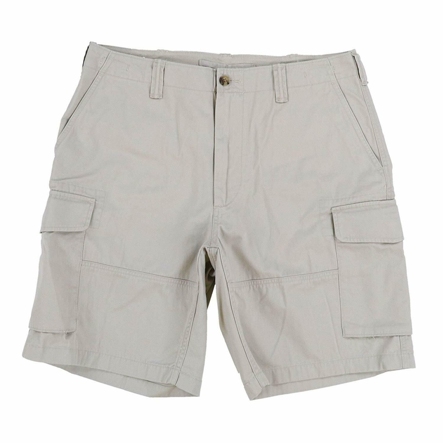 Polo Ralph Lauren Mens Relaxed Fit Cargo Shorts 32 36 Beige new nwt - $68.99